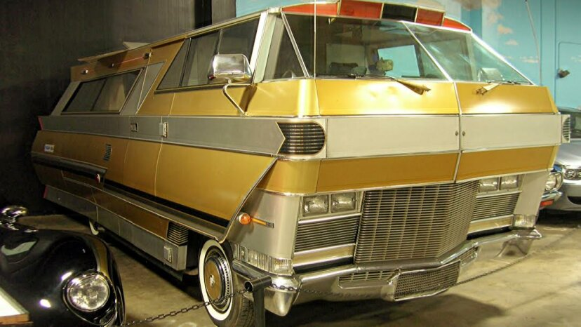 The 1971 Star Streak motorhome does RVs proud while on display at the California Automotive Museum in Sacramento, California. Jack Snell via Flickr