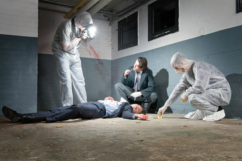 犯罪現場の写真撮影のしくみ