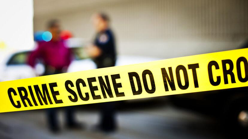 Securing crime scene