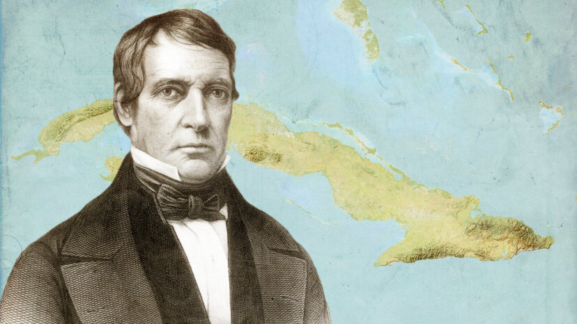 William Rufus DeVane King was sworn in as the 13th vice president of the United States on March 24, 1853, while in Havana, Cuba. He was also the third U.S. vice president to die in office. Hulton Archive/Planet Observer/UIG/Getty Images