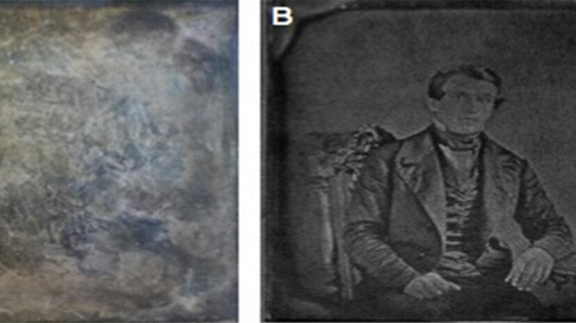 新技術が変色したダゲレオタイプの幽霊を復活させる