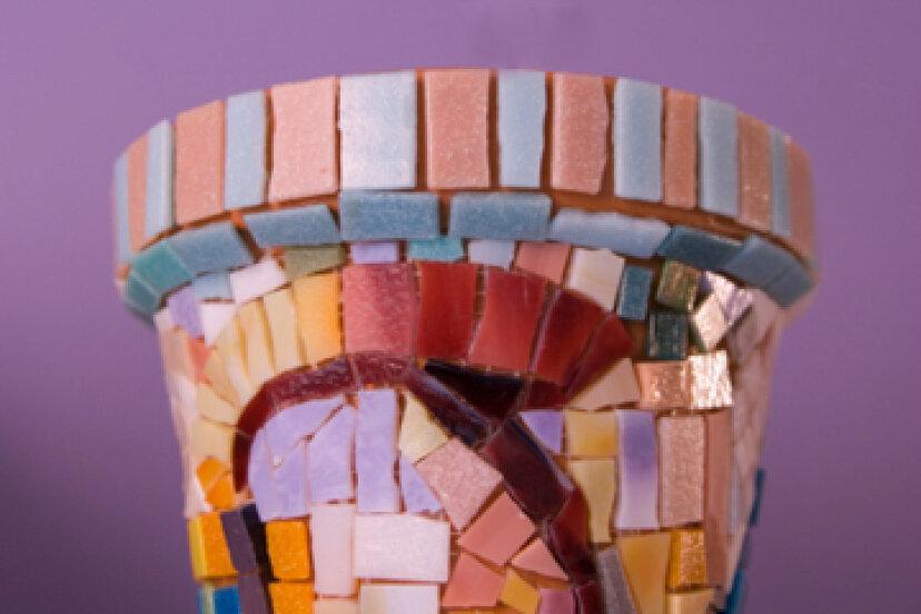 装飾的な植木鉢