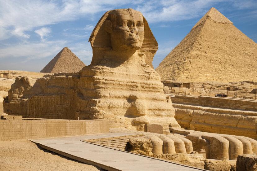 エジプト人は本当にスフィンクスを作りましたか?