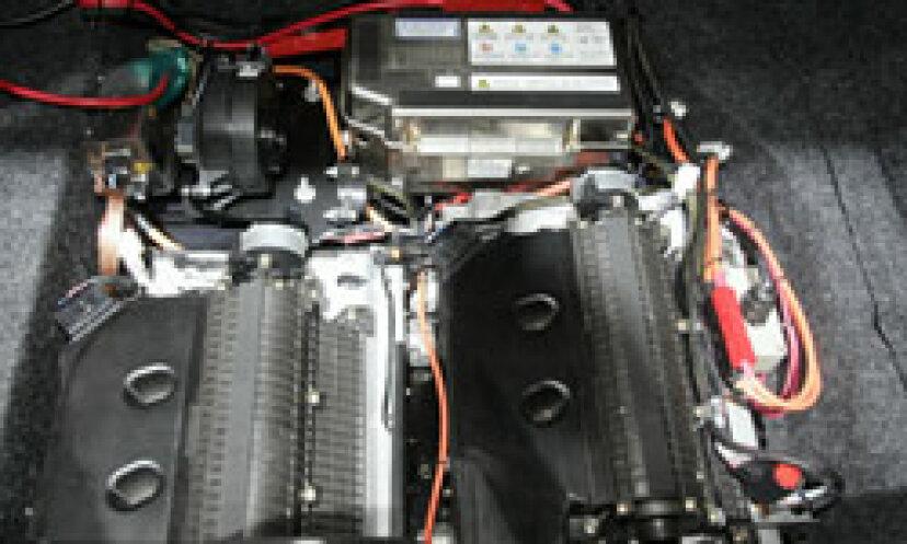 ディーゼルエンジンの写真