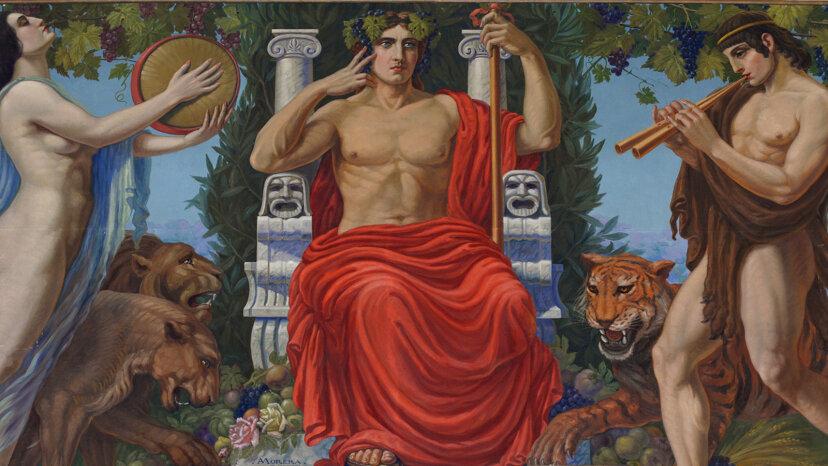 ディオニュソスは二重の性格を持つギリシャの神でした