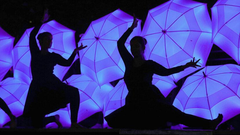 Diwali, dancers, Leicester square