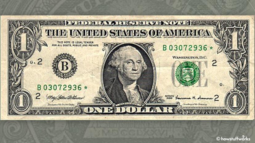 一部の米国紙幣のシリアル番号の末尾に星が付いているのはなぜですか?