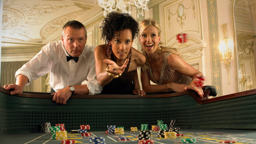 glamourous gamblers