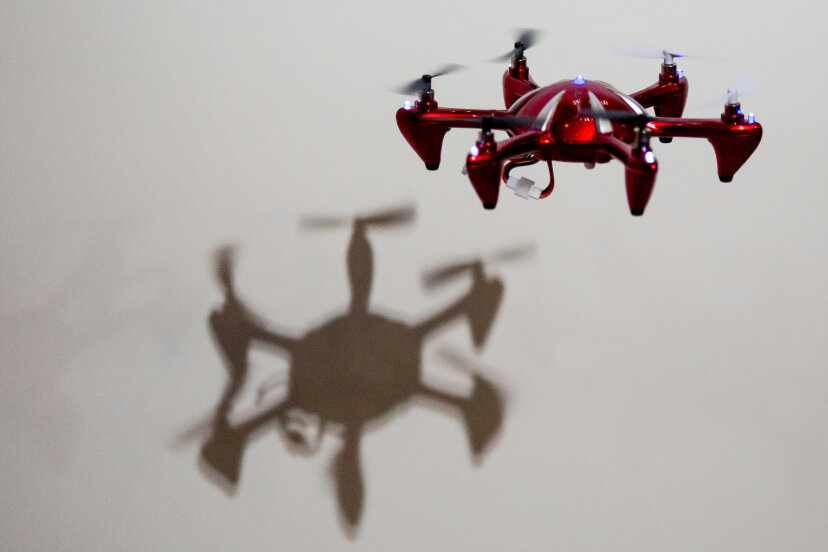 While UAVs are often associated with surveillance and intrusion, there's a lot more to their story that's not the least bit creepy. ©Chris McGrath/Getty Images