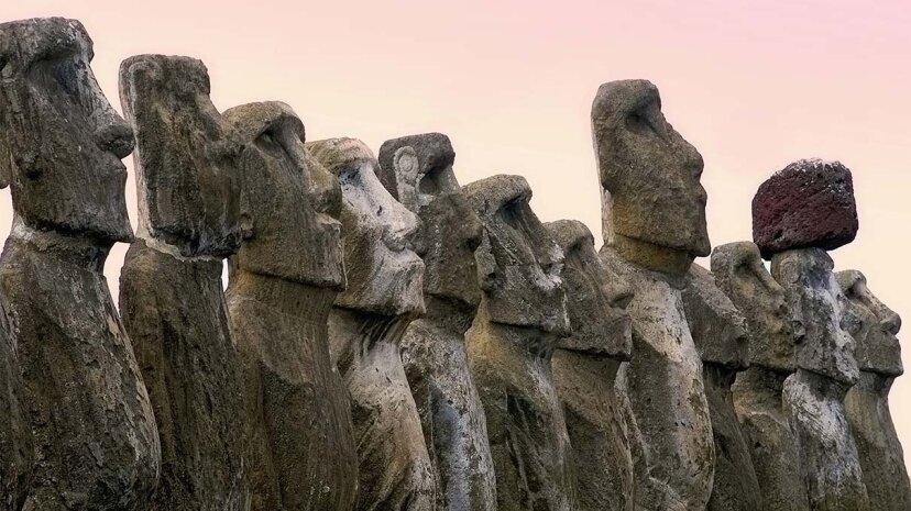 Der Klimawandel bedroht die Moai der Osterinsel