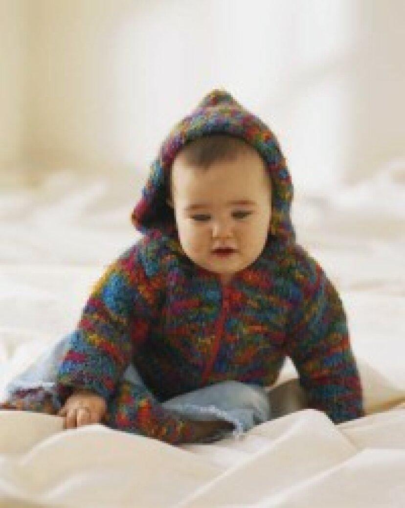 簡単な赤ちゃんの編み物パターン
