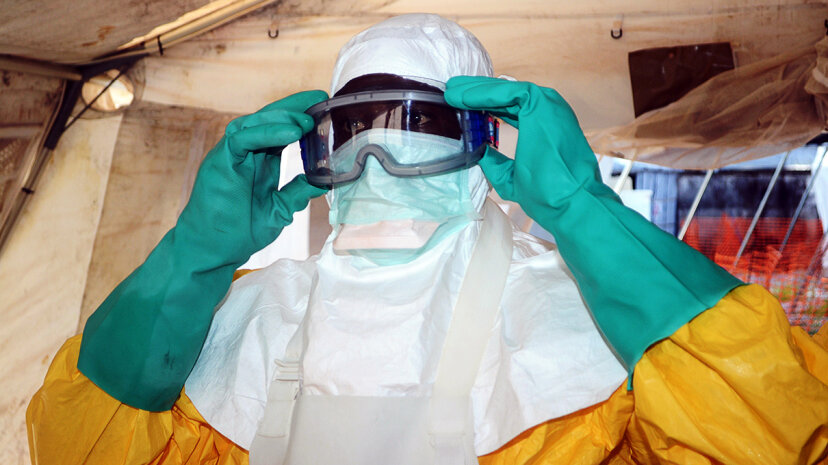 Ebola protective gear