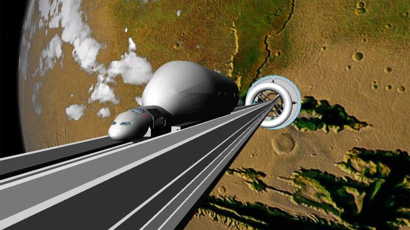 Können wir ohne große Raketen in den Weltraum gelangen?