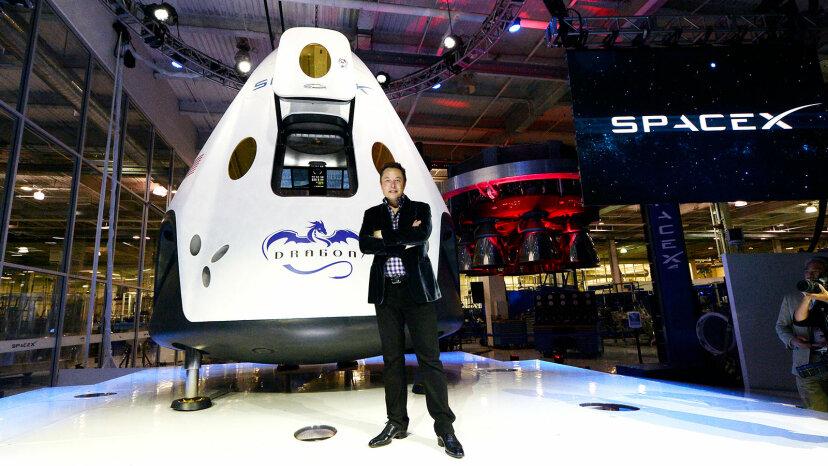 Elon Musk, SpaceX, The Dragon V2