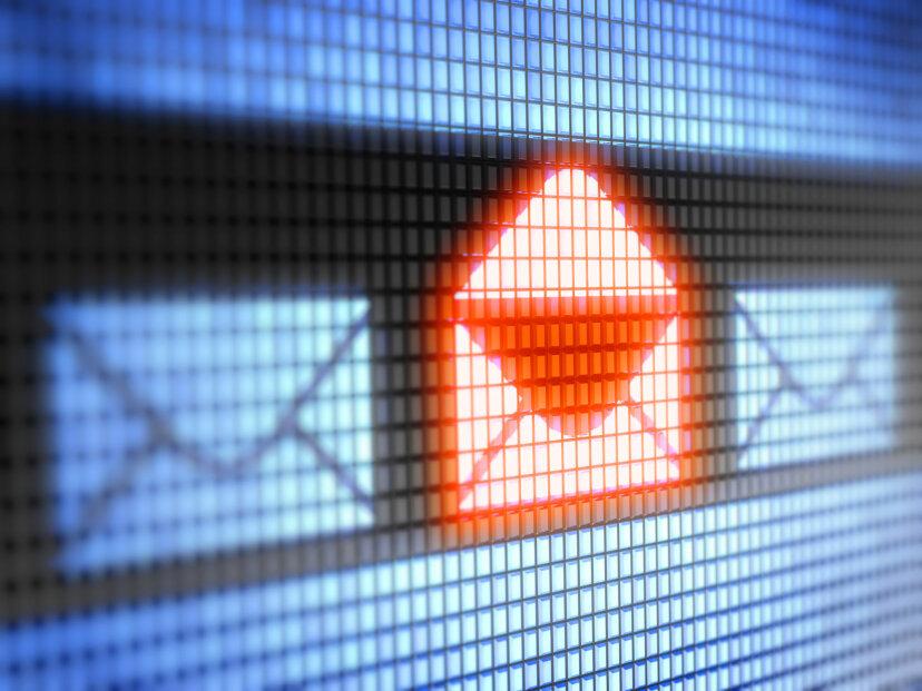 電子メールに課税することはできますか?