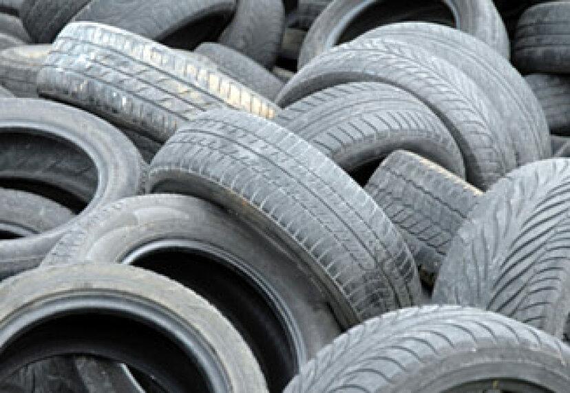 タイヤのリサイクル方法