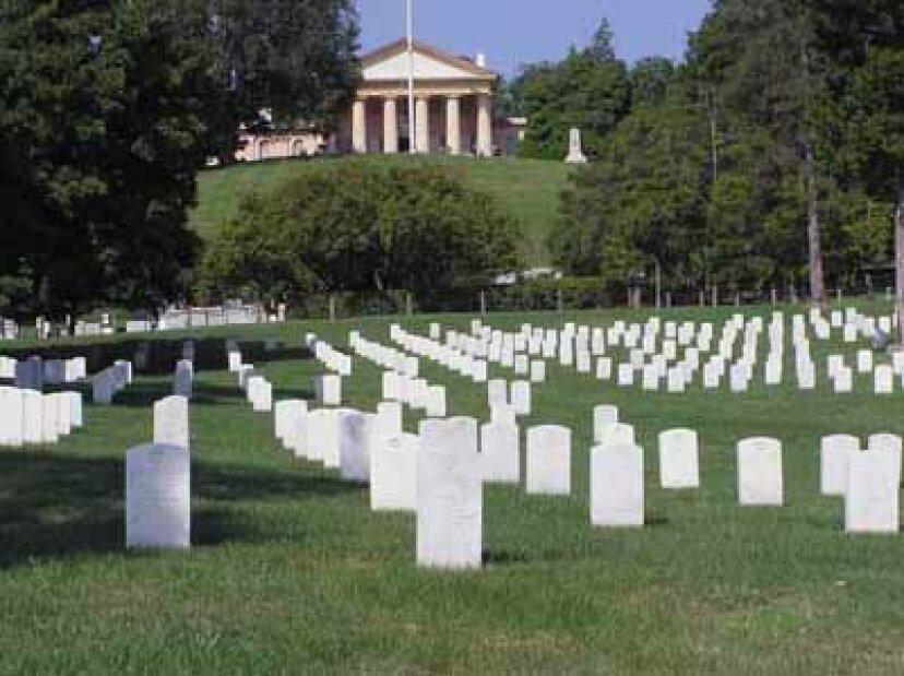 家族での休暇:アーリントン国立墓地