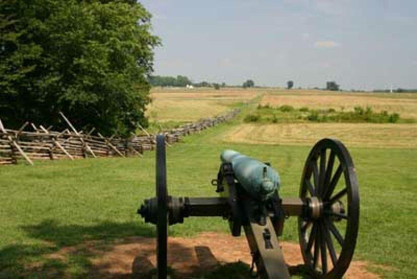 家族での休暇:ゲティスバーグ国立軍事公園