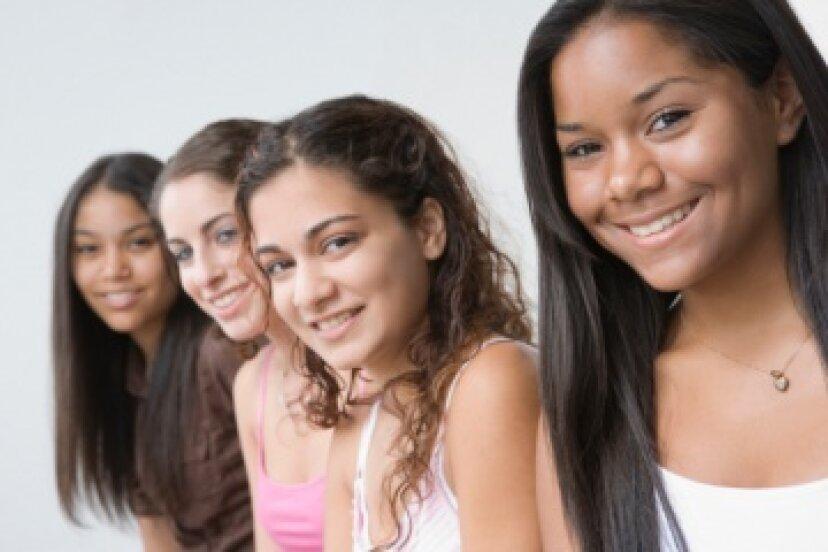 女性の十代のよくある質問