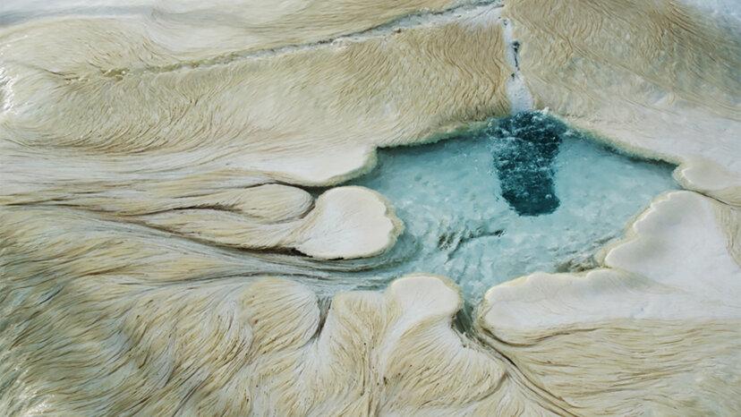 Fettuccine Rock podría indicar vida en Marte