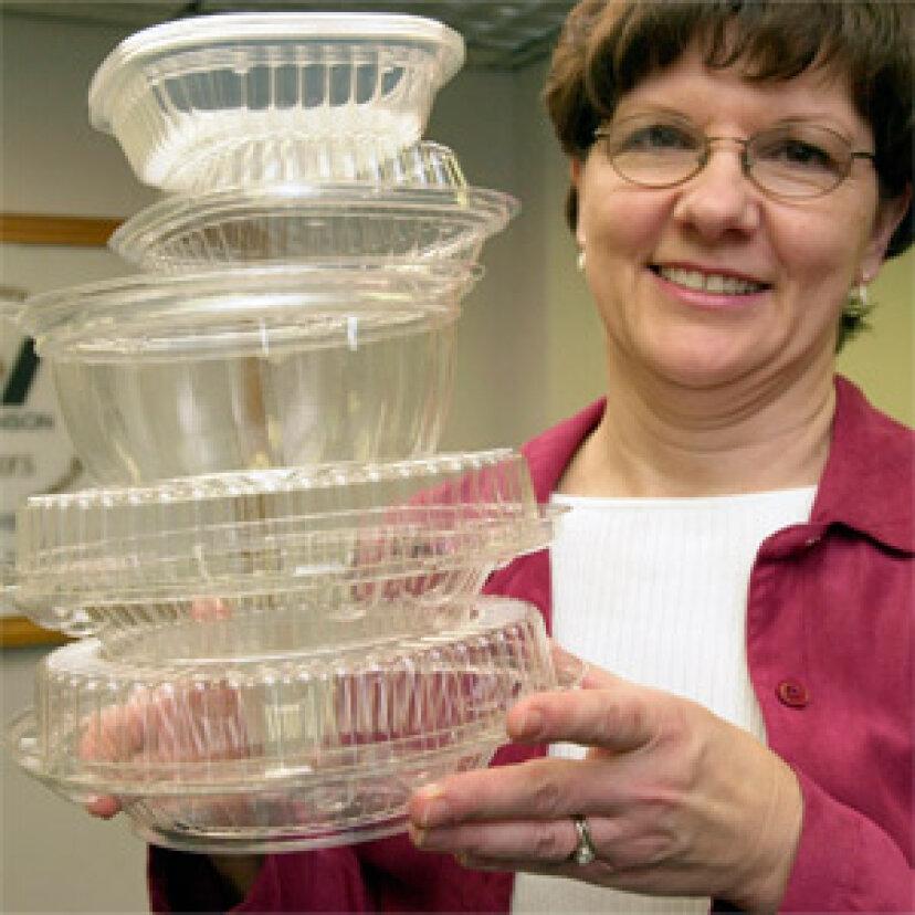 食品ベースのプラスチックは良い考えですか?