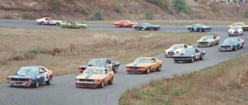 フォードマスタングはトランザムレーシングに行く