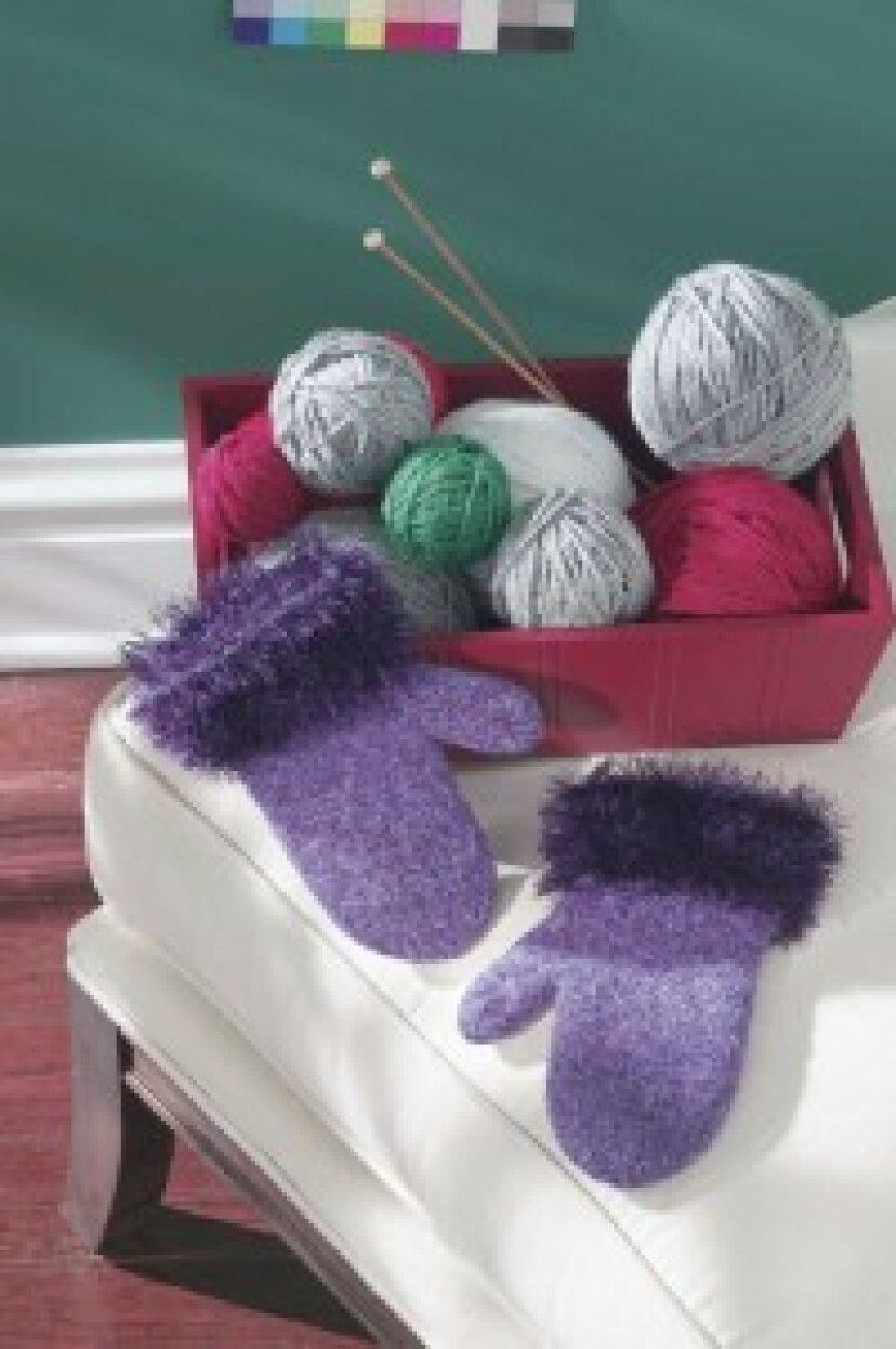無料のミトン編みパターン