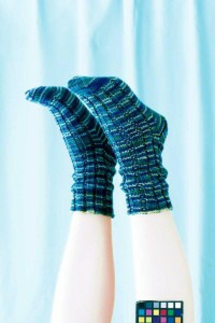 無料の靴下編みパターン