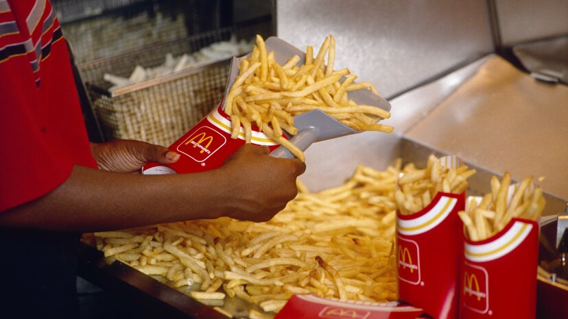 fries, baldness