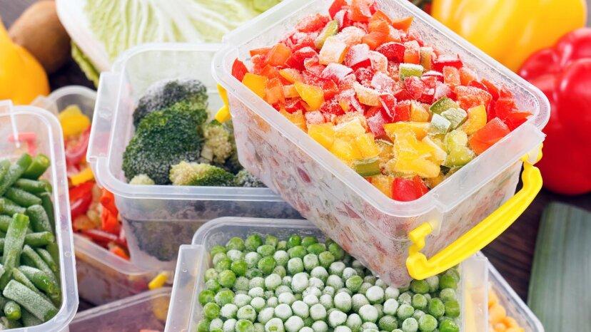 新鮮な野菜を冷凍する方法