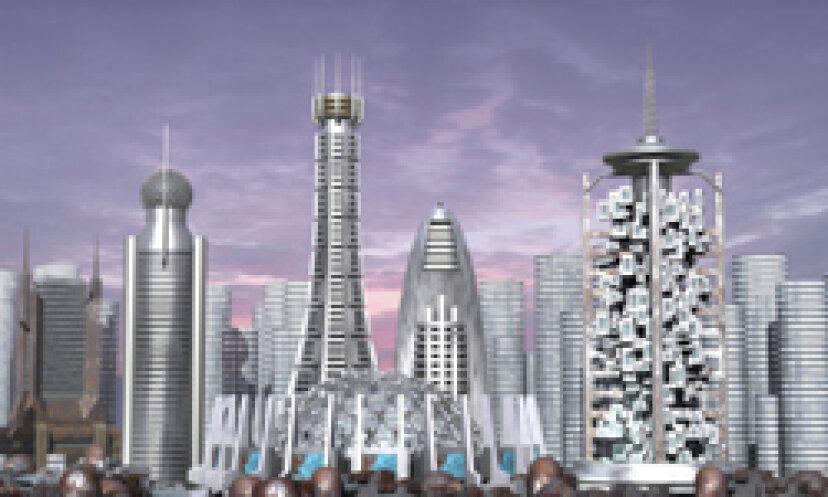 未来の建築写真