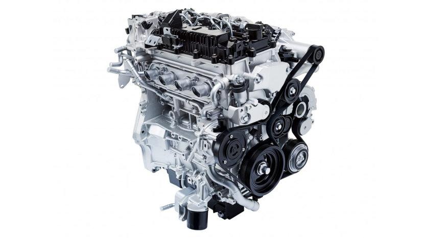 Mazda SKYACTIV-X engine