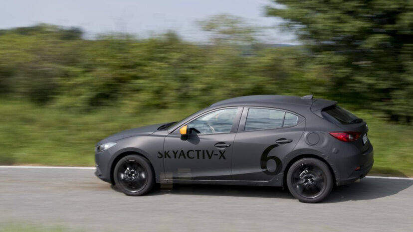 The SKYACTIV-G 2.0-liter has the power of a 2.5-liter engine and the efficiency of a 1.5-liter diesel engine. Mazda