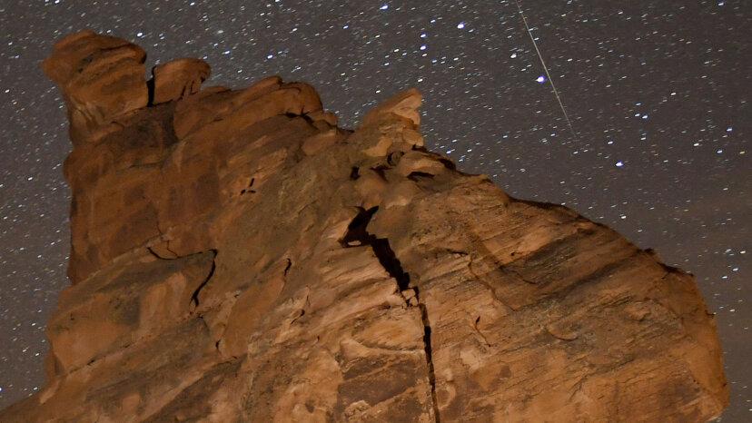 Wie man den spektakulären Geminid Meteorschauer sieht