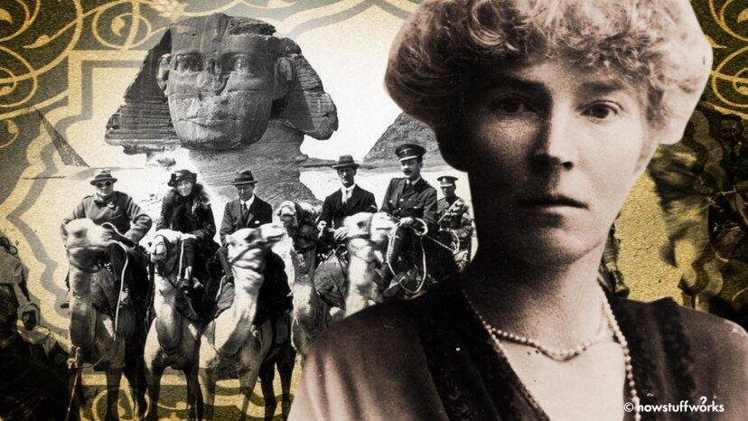 """Gertrude Bell war die """"Lawrence of Arabia"""" im viktorianischen England."""
