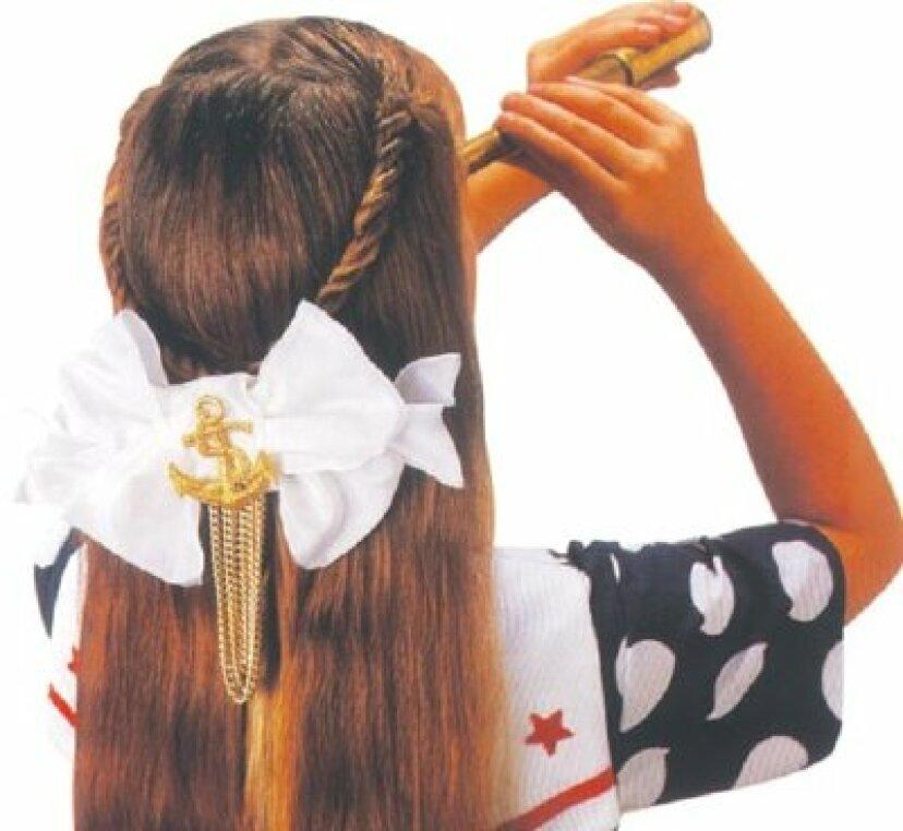 女の子の髪の弓を作る方法