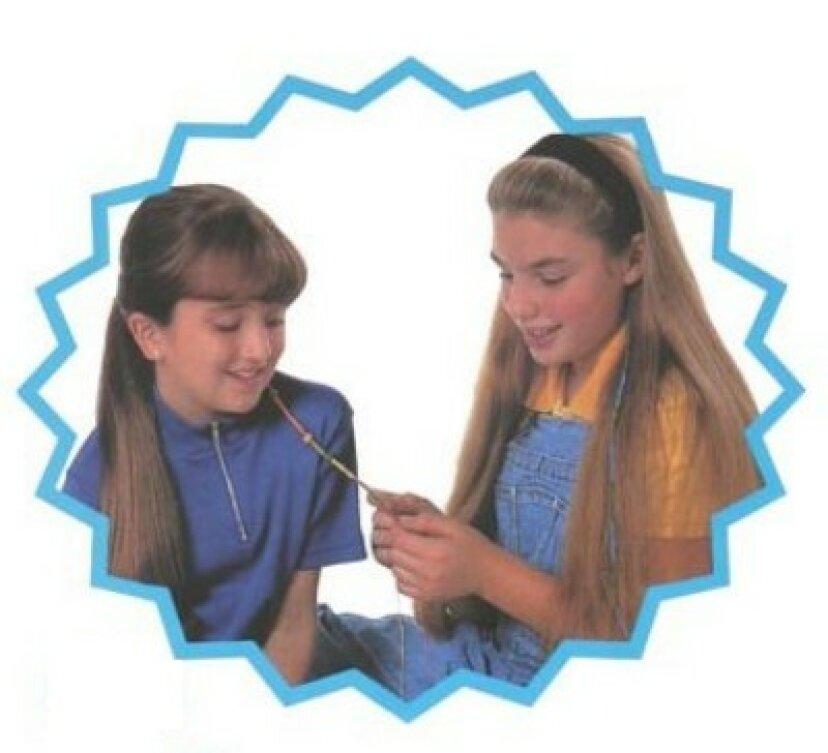 女の子のヘアラップの作り方