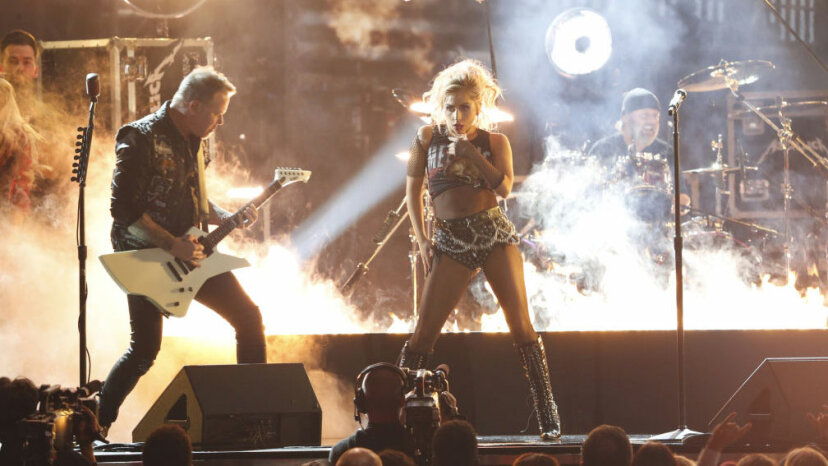Lady Gaga, Metallica