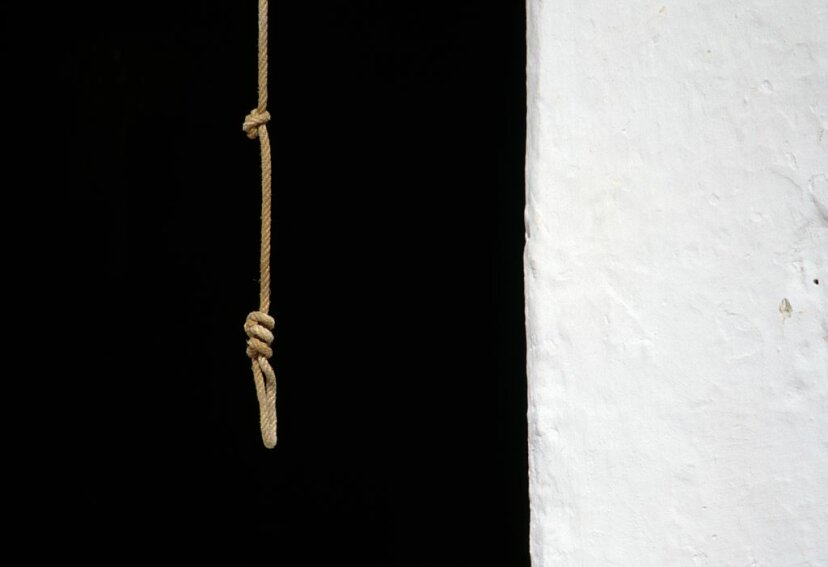 One of the workers at Creepyworld accidentally hung herself but visitors thought it was part of the act. DEA/ARCHIVIO J. LANGE /Getty Images