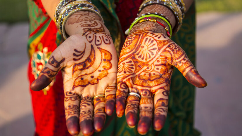 Tatuajes de henna: la historia de un arte antiguo