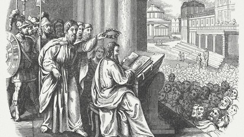 Herodotus reads his story