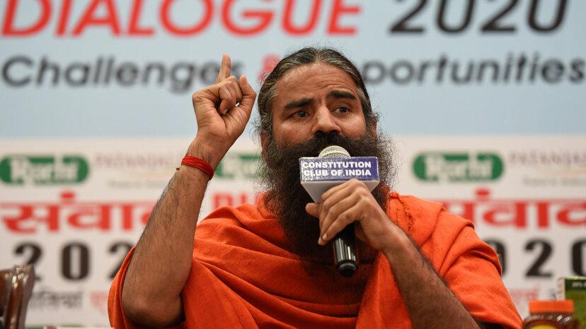 Yoga guru Baba Ramdev