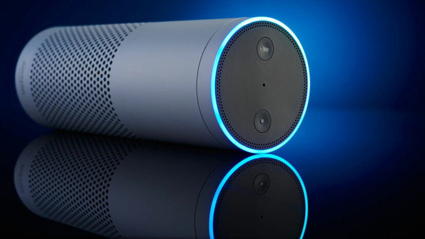 A smart home device -- like Amazon's Echo, pictured here -- can't call the cops. But that could soon change. Joby Sessions/T3 Magazine via Getty Images