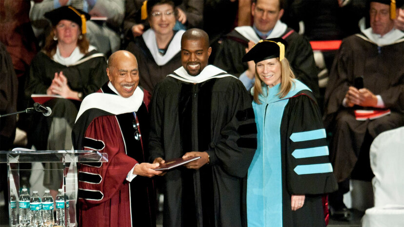 Kanye West, honorary doctorate