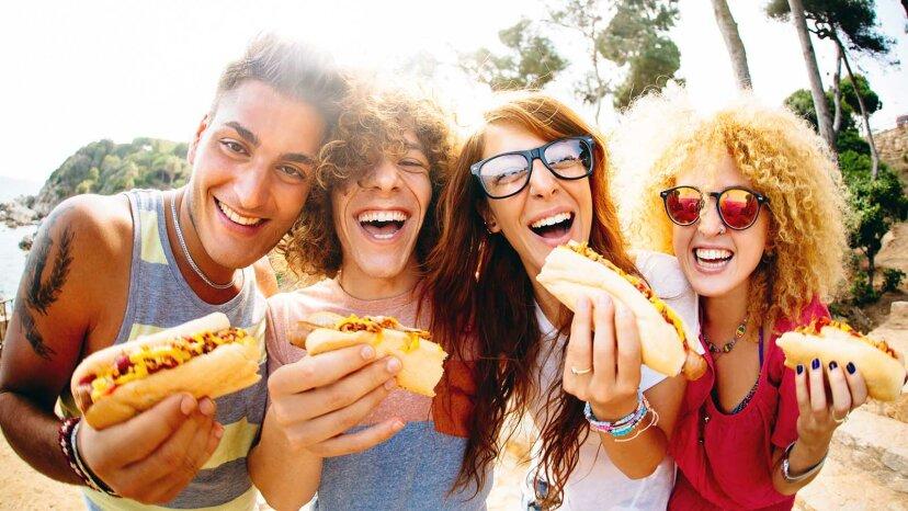Woraus bestehen Hot Dogs?