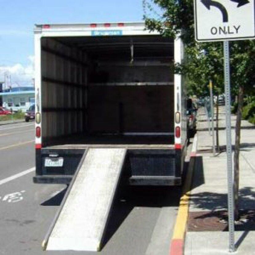移動トラックの梱包方法