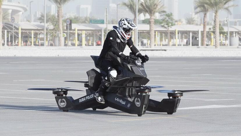 La Hoverbike: ¿el futuro del vuelo?
