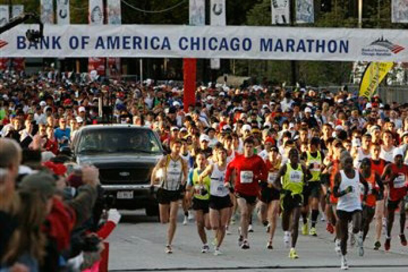 シカゴマラソンのしくみ