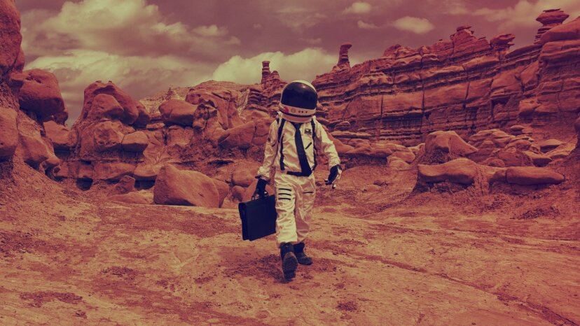 Martian Commute, life in Mars