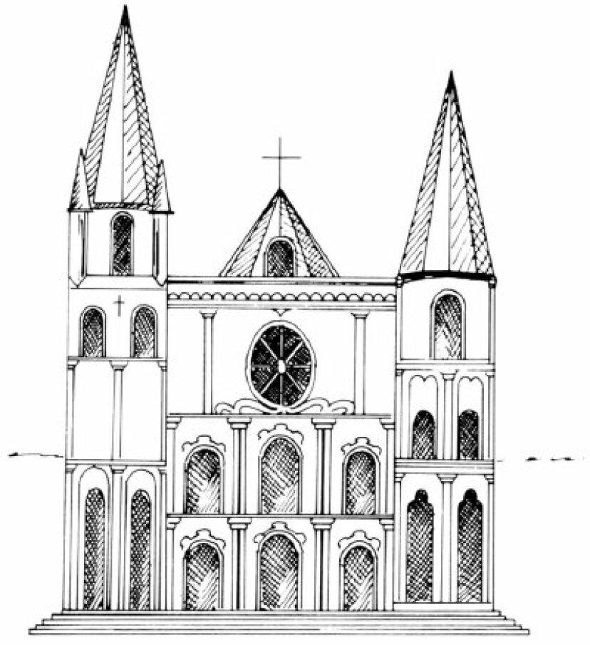 大聖堂の描き方